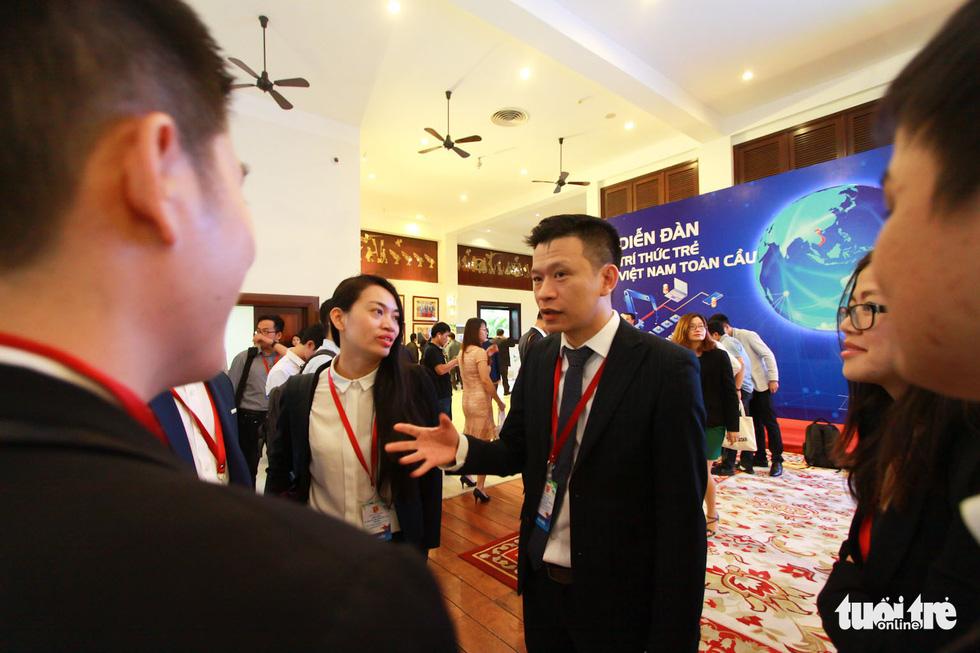 Khai mạc diễn đàn Trí thức trẻ Việt Nam toàn cầu lần thứ I - Ảnh 5.