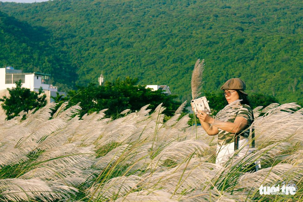 Trai xinh gái đẹp diễn sâu giữa đồng cỏ lau Đà Nẵng - Ảnh 16.