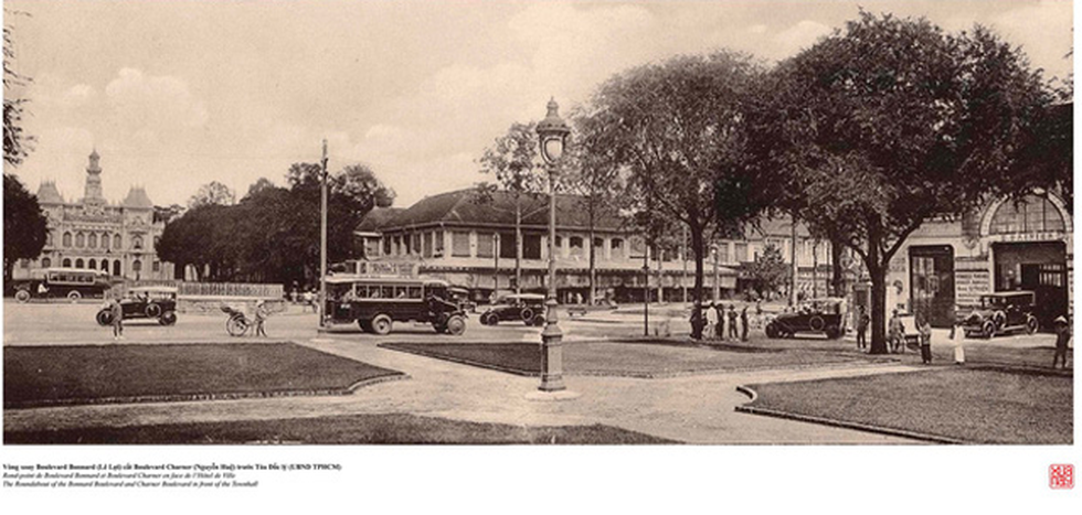 Đến Đường sách xem bản đồ và hình ảnh Sài Gòn xưa - Ảnh 9.