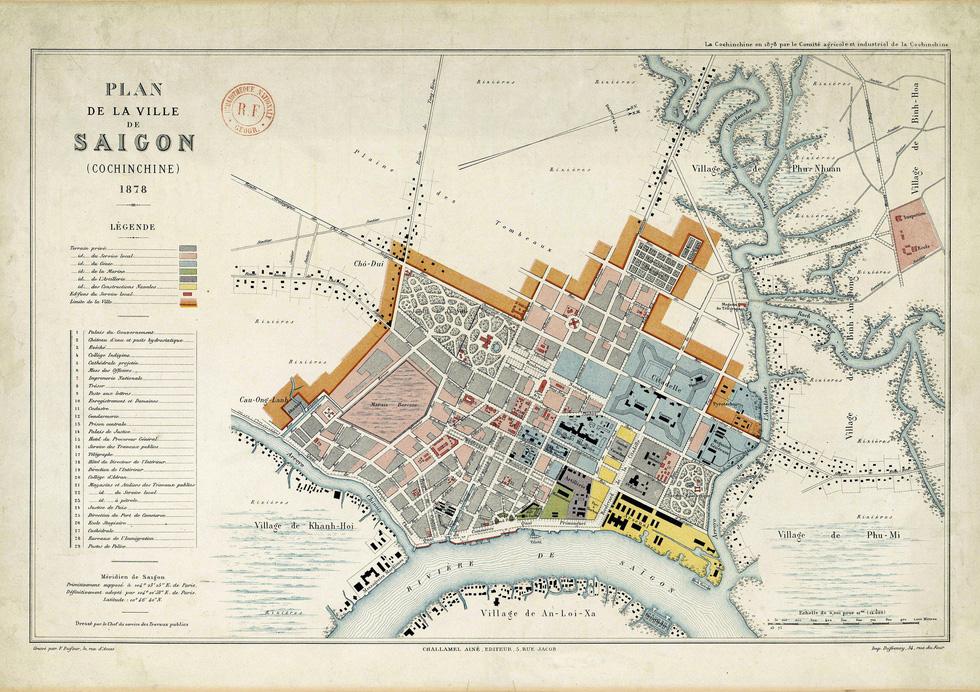 Đến Đường sách xem bản đồ và hình ảnh Sài Gòn xưa - Ảnh 3.