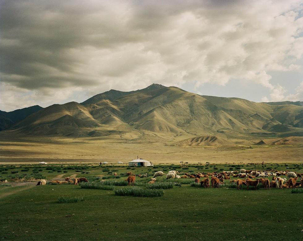 Vẻ đẹp tĩnh lặng đáng kinh ngạc trên thảo nguyên Mông Cổ - Ảnh 6.