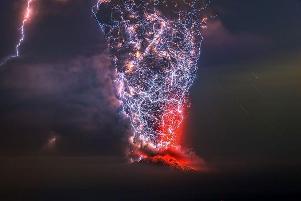 Núi lửa El Calbuco, Chile - giải nhất hạng mục Vẻ đẹp tự nhiên