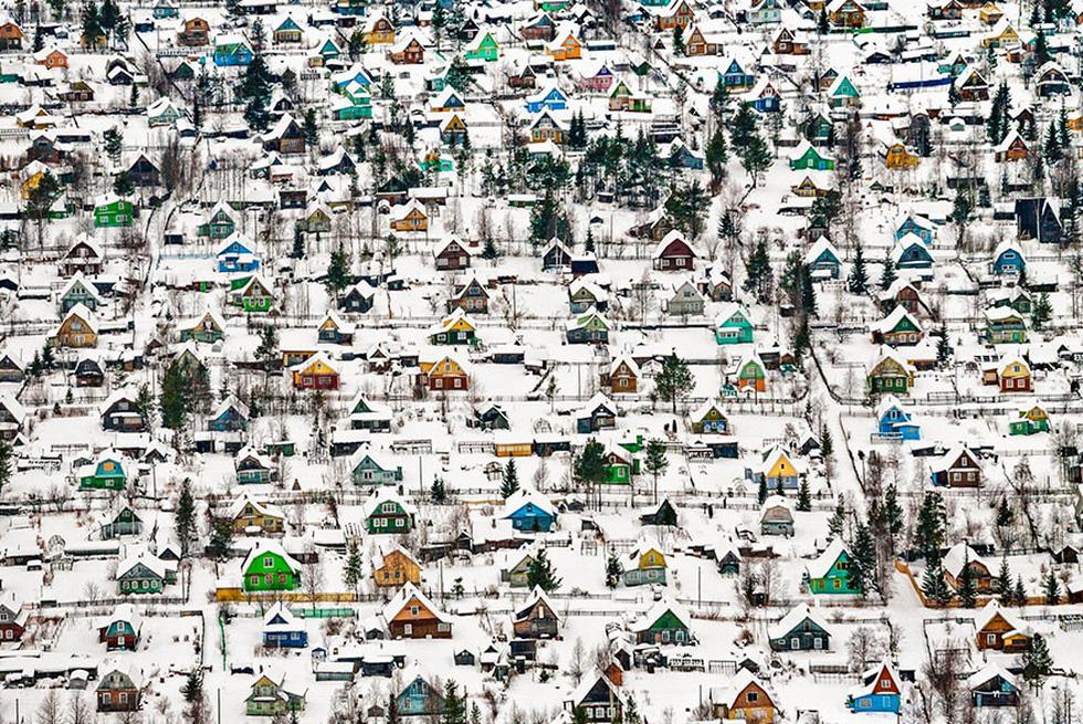 Nhà đồ chơi, Nga - giải nhất hạng mục Kiến trúc và không gian đô thị