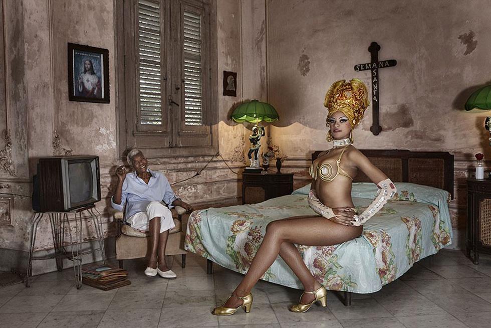 Vũ công Joana và bà ngoại tại Cuba - giải Danh dự hạng mục Chân dung và con người