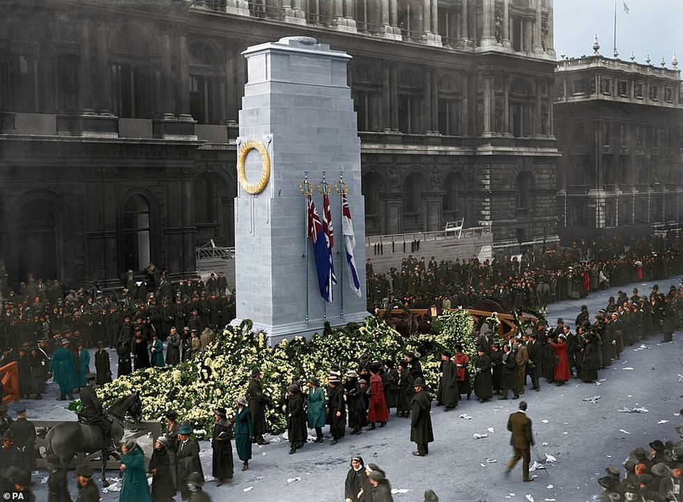 Những bức ảnh hiếm hoi xúc động về Đại chiến thế giới thứ nhất - Ảnh 2.