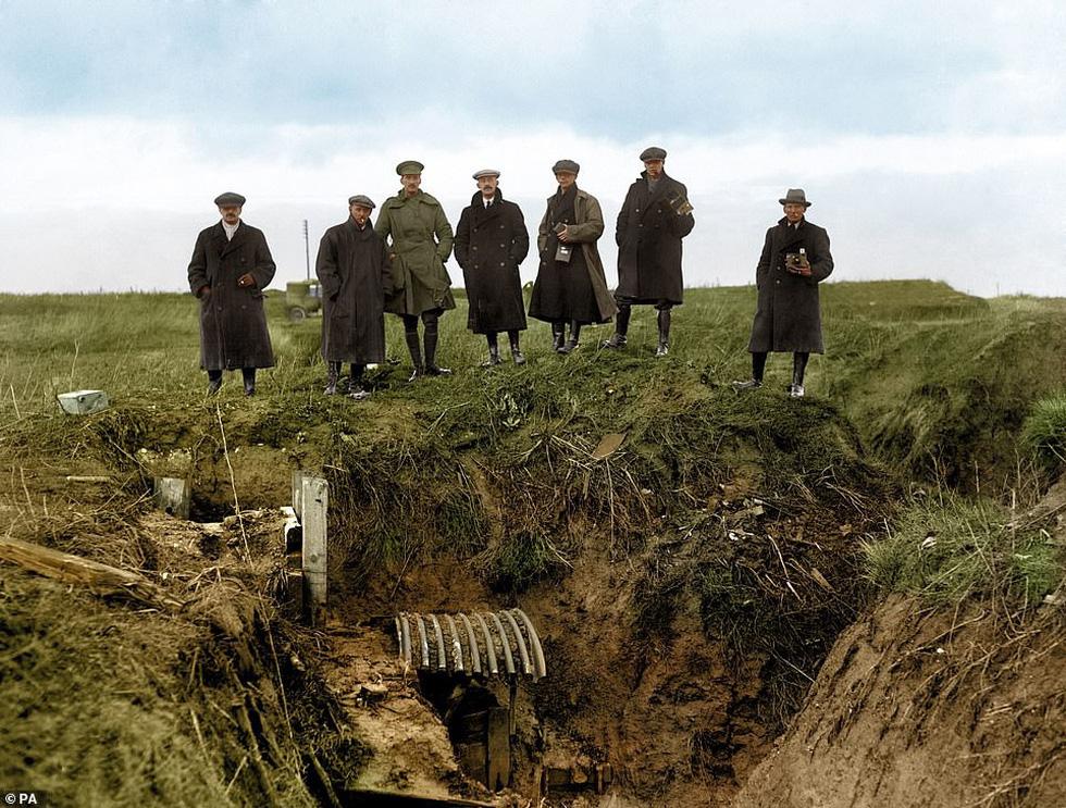 Những bức ảnh hiếm hoi xúc động về Đại chiến thế giới thứ nhất - Ảnh 7.
