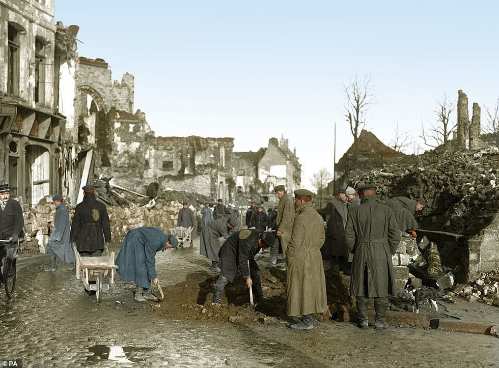 Những bức ảnh hiếm hoi xúc động về Đại chiến thế giới thứ nhất - Ảnh 3.