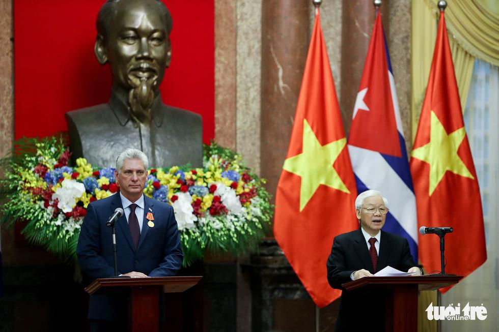 Chùm ảnh Chủ tịch Cuba Miguel Díaz-Canel thăm Việt Nam - Ảnh 9.