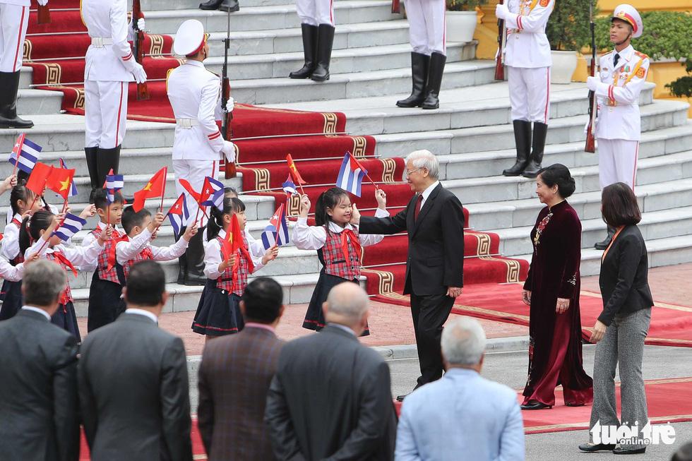 Chùm ảnh Chủ tịch Cuba Miguel Díaz-Canel thăm Việt Nam - Ảnh 2.