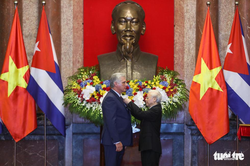 Chùm ảnh Chủ tịch Cuba Miguel Díaz-Canel thăm Việt Nam - Ảnh 5.