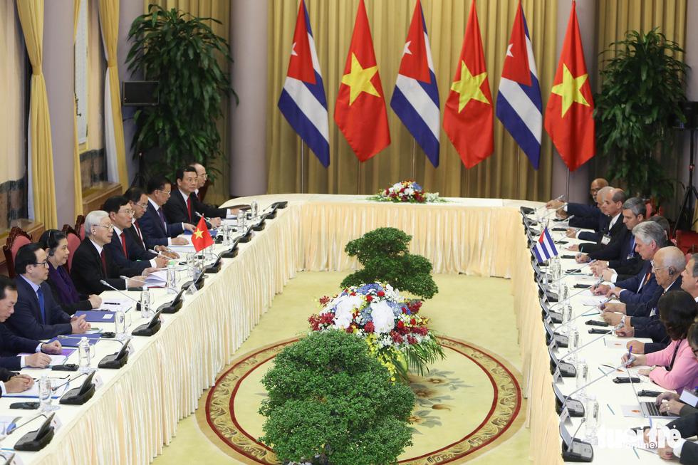 Chùm ảnh Chủ tịch Cuba Miguel Díaz-Canel thăm Việt Nam - Ảnh 7.