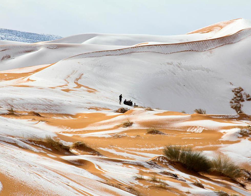 Chuyện khó tin: tuyết rơi phủ trắng sa mạc Sahara - Ảnh 12.