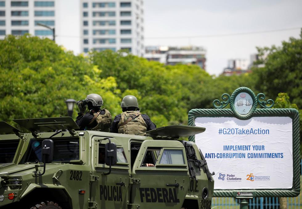 Argentina tốn hơn 40 triệu đô bảo vệ G20 - Ảnh 2.