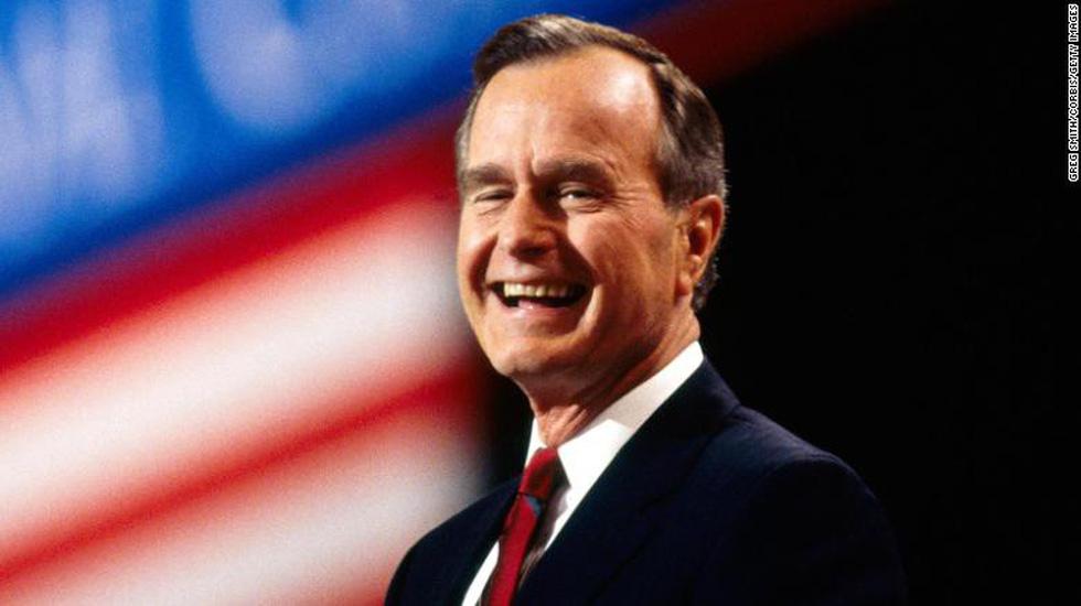 Cựu tổng thống Bush cha 'khai trương' quan hệ bình thường Việt - Mỹ - Ảnh 3.