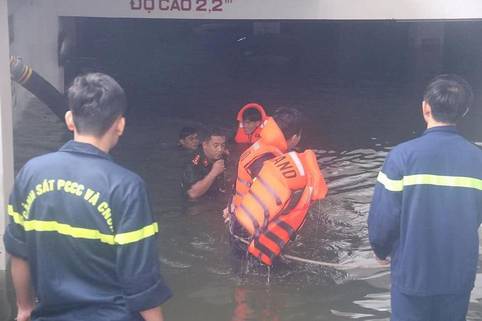 Giải cứu xế hộp chết chìm ở chung cư cao cấp Đà Nẵng - Ảnh 7.