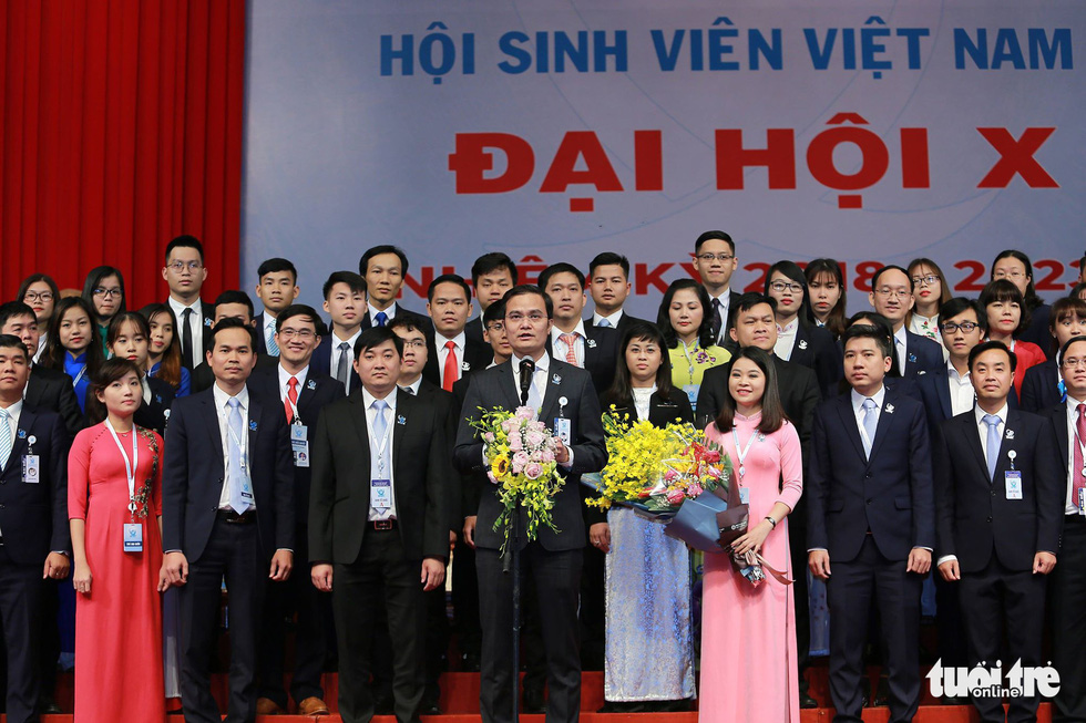 Anh Bùi Quang Huy đắc cử Chủ tịch Hội Sinh viên Việt Nam khóa X - Ảnh 1.