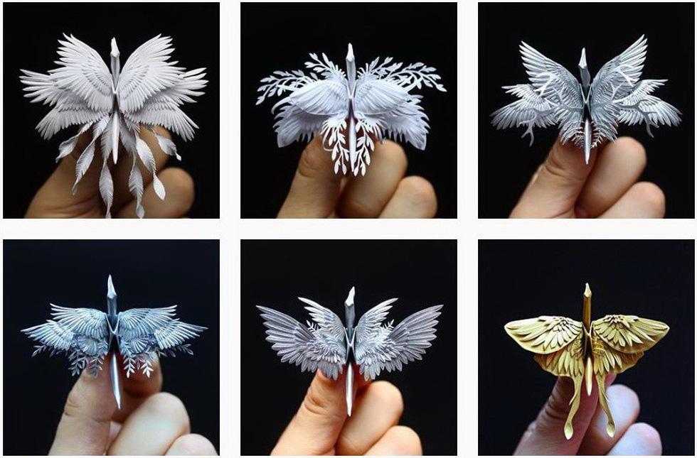 Ngắm những chú hạc giấy origami đẹp ngỡ ngàng - Ảnh 6.