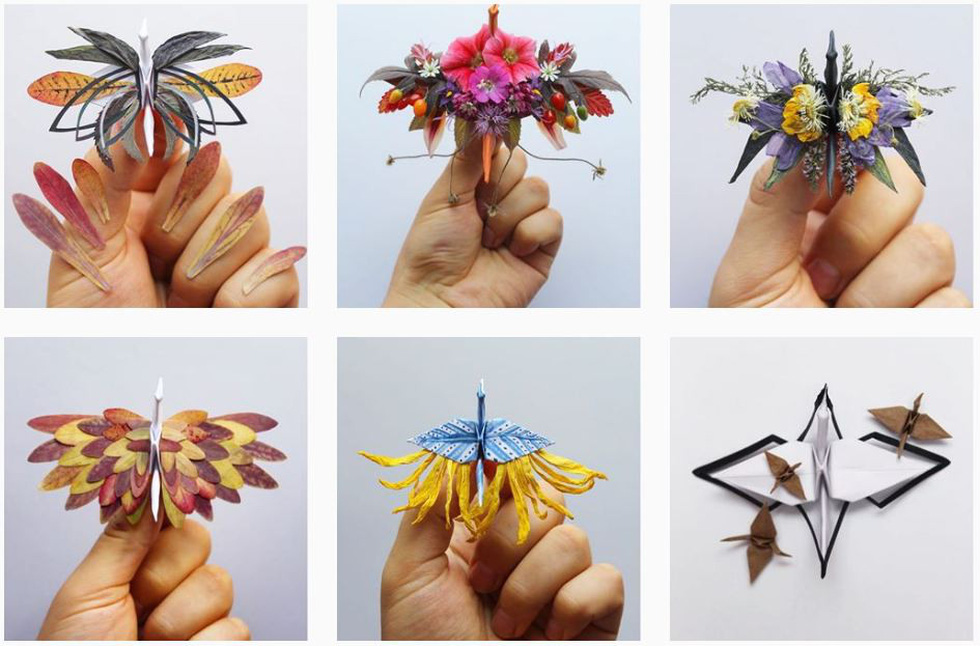 Ngắm những chú hạc giấy origami đẹp ngỡ ngàng - Ảnh 10.