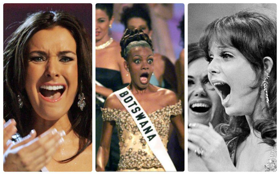 Thí sinh Miss Universe khóc, la thét, há hốc mồm khi là Hoa hậu - Ảnh 1.