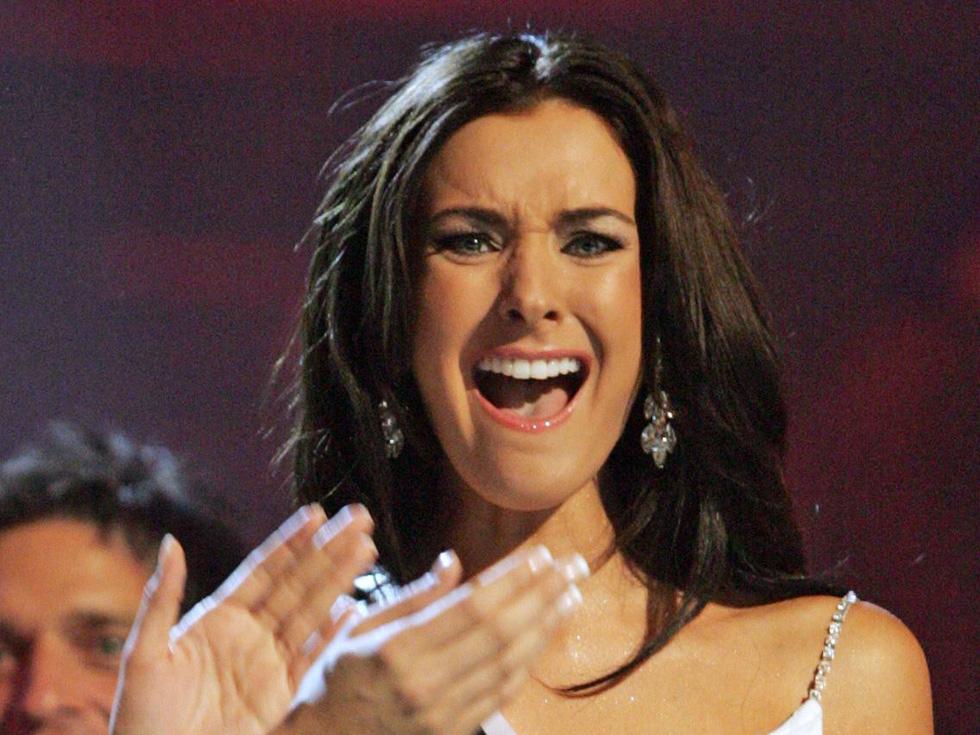 Thí sinh Miss Universe khóc, la thét, há hốc mồm khi là Hoa hậu - Ảnh 14.