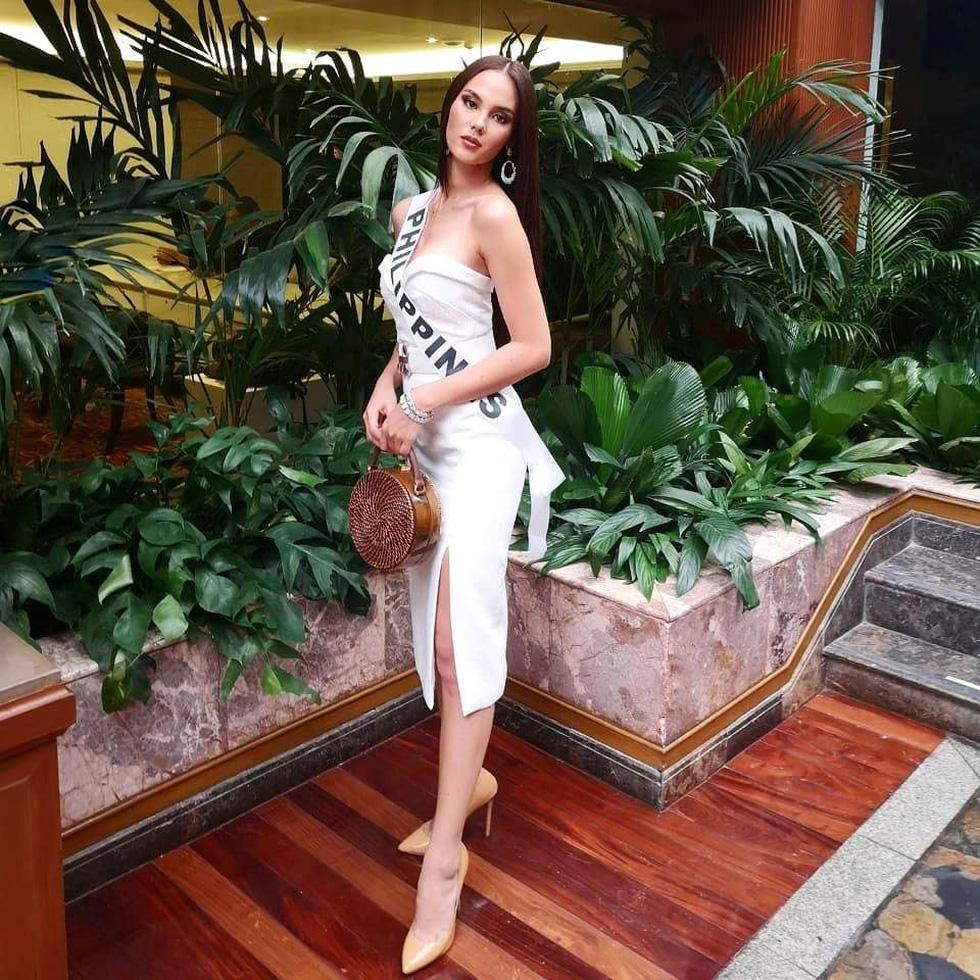 Kiểu catwalk nham thạch của Hoa hậu Hoàn vũ Catriona Gray - Ảnh 12.
