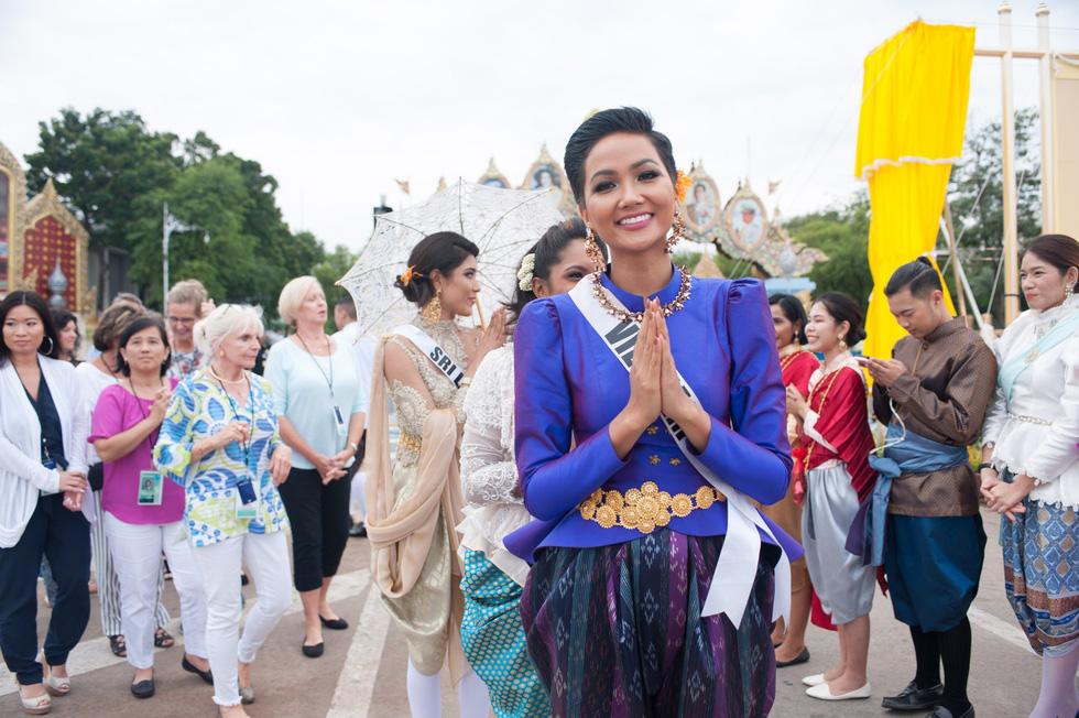 Xem lại hành trình của HHen Niê đến top 5 Miss Universe - Ảnh 12.