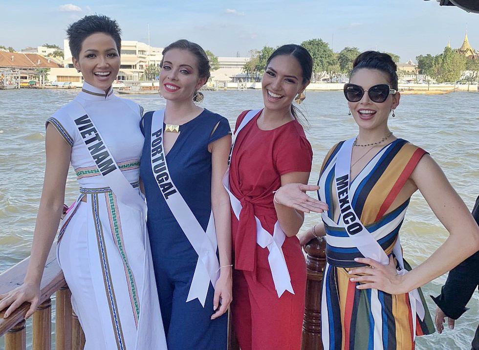 Xem lại hành trình của HHen Niê đến top 5 Miss Universe - Ảnh 7.