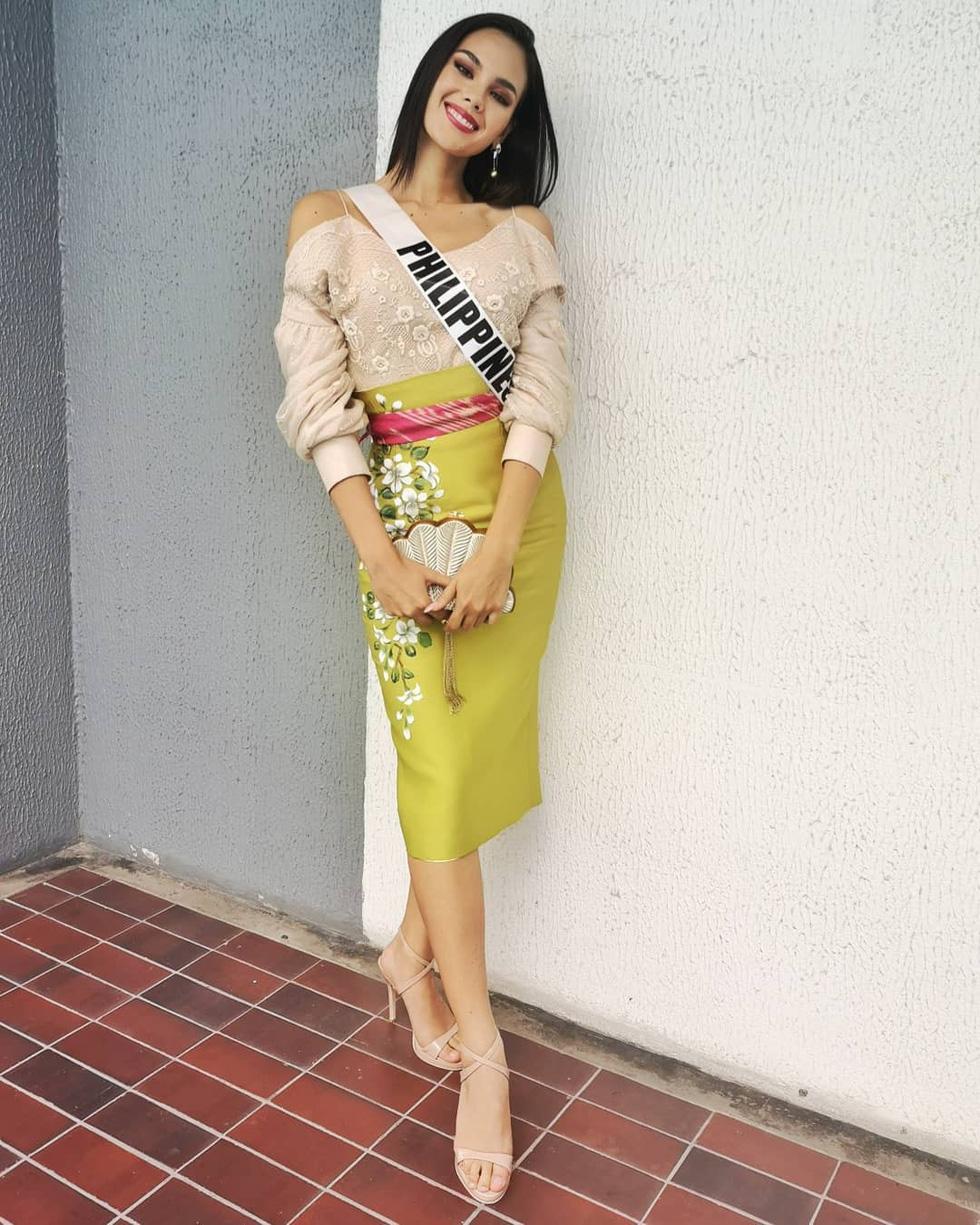 Kiểu catwalk nham thạch của Hoa hậu Hoàn vũ Catriona Gray - Ảnh 5.