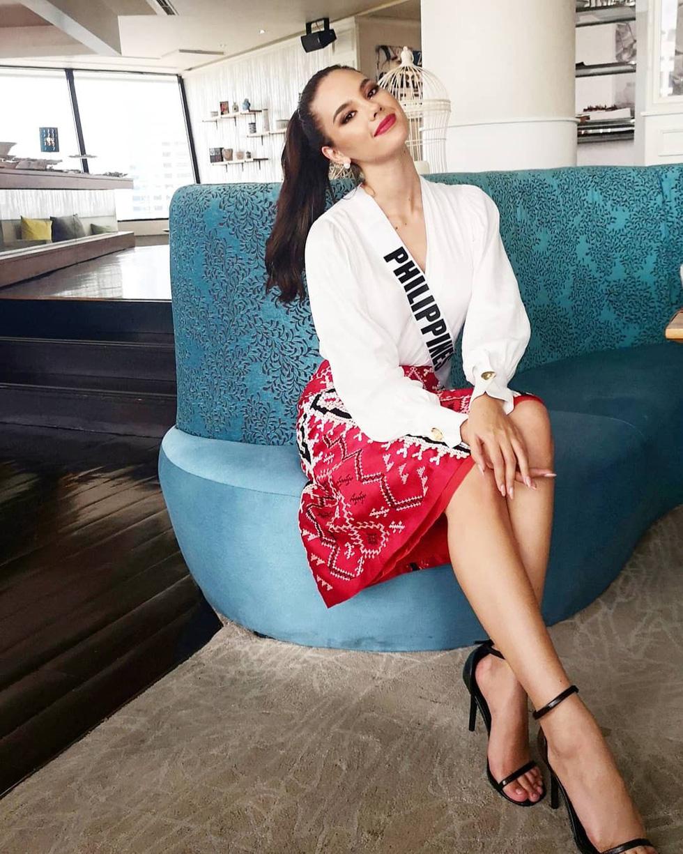 Kiểu catwalk nham thạch của Hoa hậu Hoàn vũ Catriona Gray - Ảnh 10.