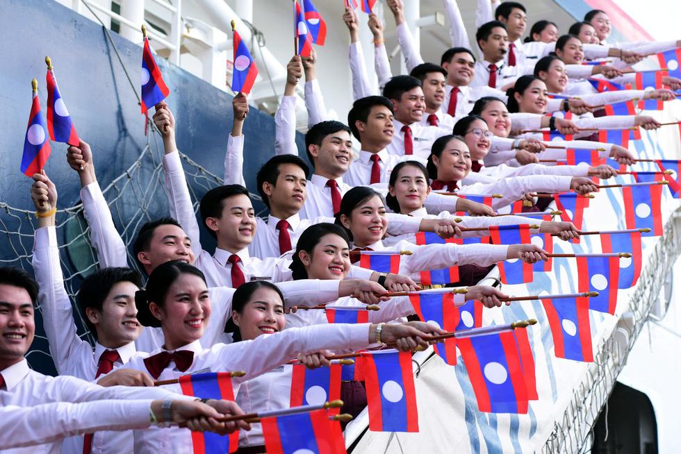 Tàu Nippon Maru đưa 329 thanh niên ưu tú cập cảng Cát Lái - Ảnh 5.