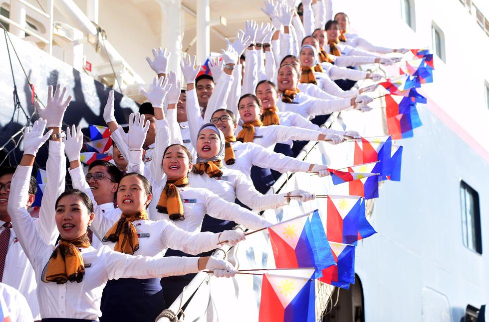 Tàu Nippon Maru đưa 329 thanh niên ưu tú cập cảng Cát Lái - Ảnh 2.