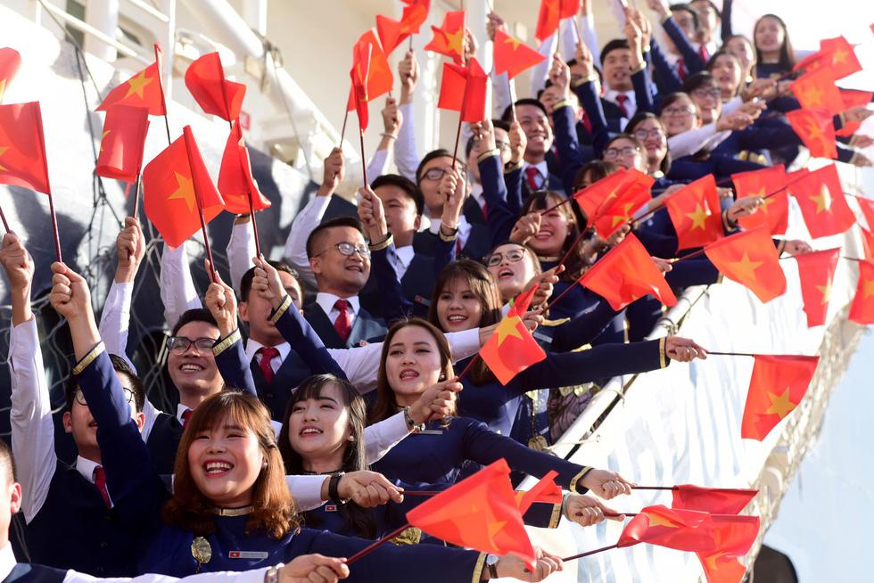 Tàu Nippon Maru đưa 329 thanh niên ưu tú cập cảng Cát Lái - Ảnh 6.