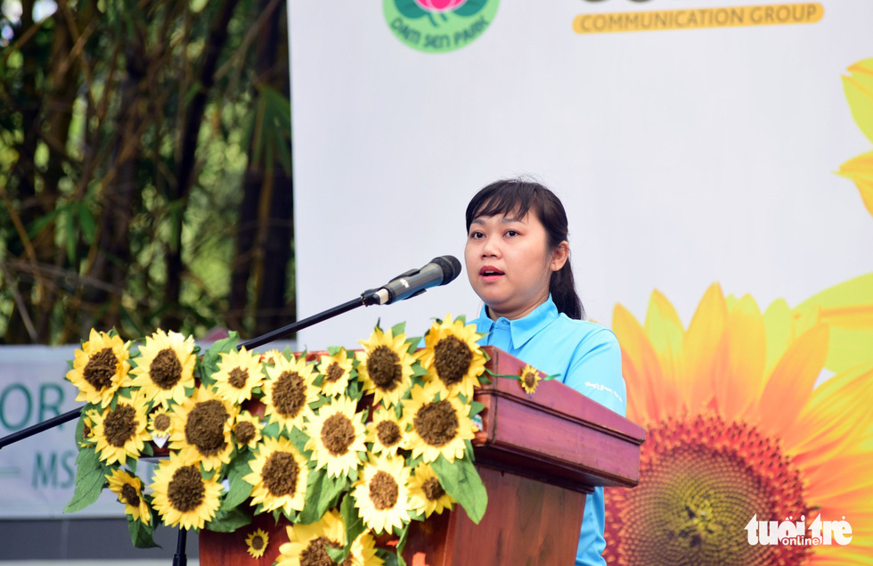 6,6 tỉ đồng - tấm lòng bạn đọc trong Ngày hội Hoa hướng dương - Ảnh 15.