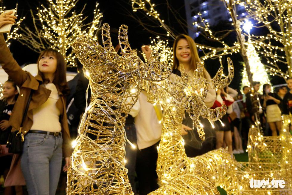 Khu vườn Giáng sinh phong cảnh châu Âu hút hồn bạn trẻ Huế - Ảnh 7.