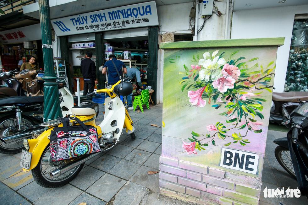 Tủ điện Hà Nội được khoác áo mới đón Tết - Ảnh 13.