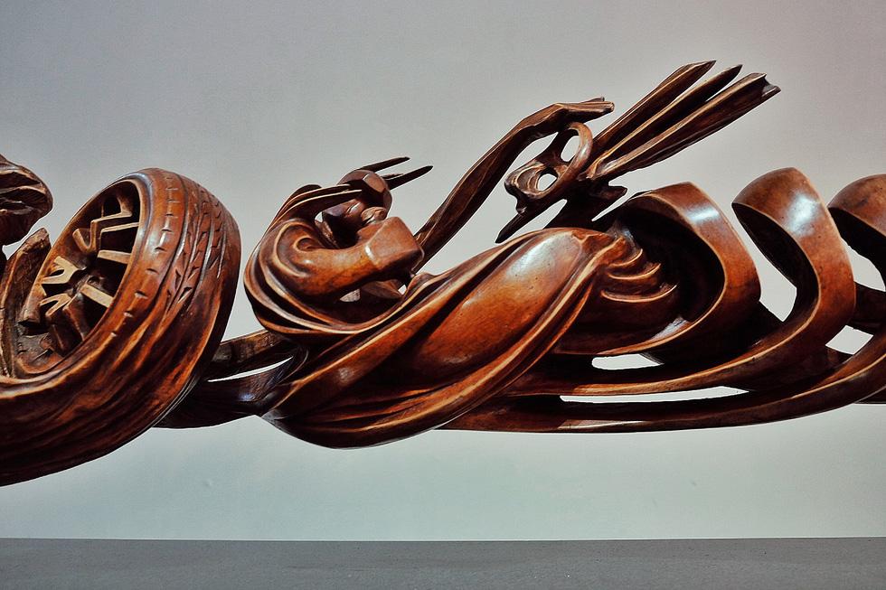 Triển lãm điêu khắc Sài Gòn - Hà Nội: Heo lên ngôi trong năm Kỷ Hợi - Ảnh 20.