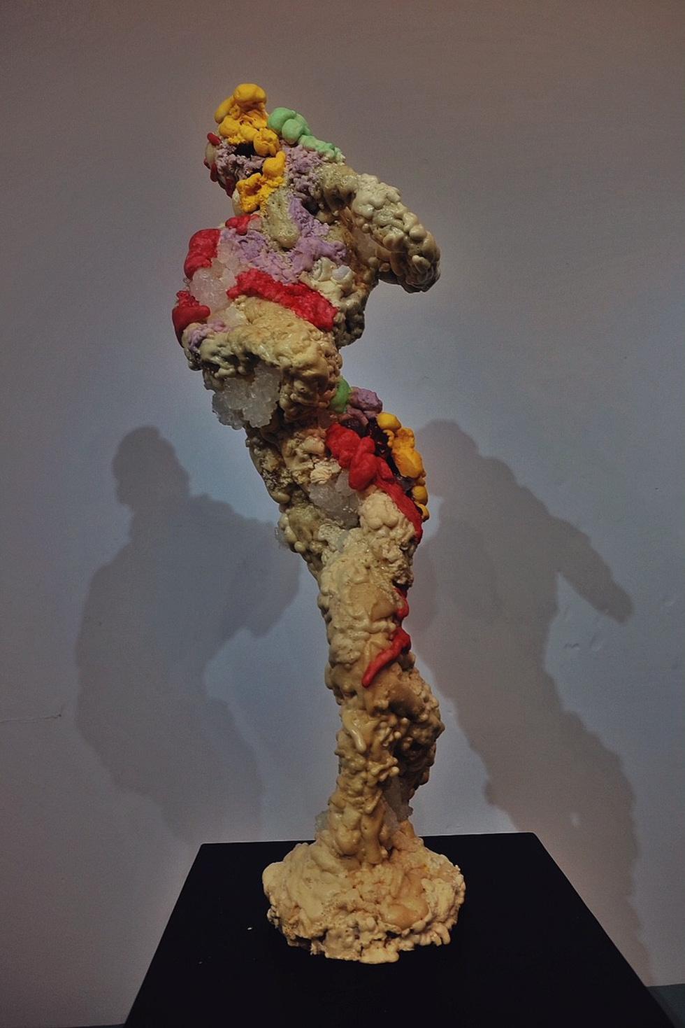Triển lãm điêu khắc Sài Gòn - Hà Nội: Heo lên ngôi trong năm Kỷ Hợi - Ảnh 11.
