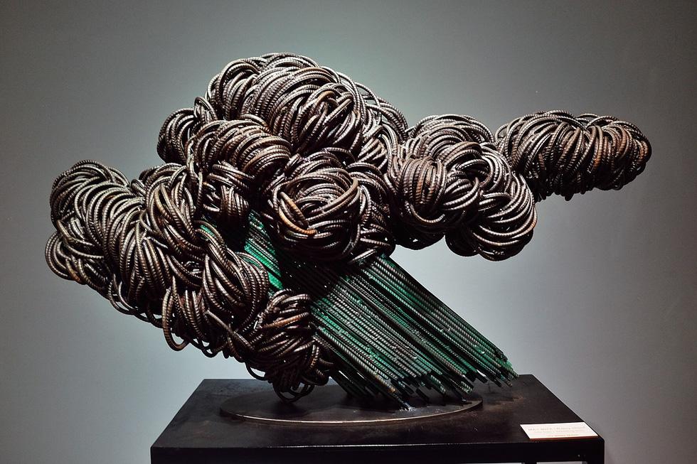 Triển lãm điêu khắc Sài Gòn - Hà Nội: Heo lên ngôi trong năm Kỷ Hợi - Ảnh 21.