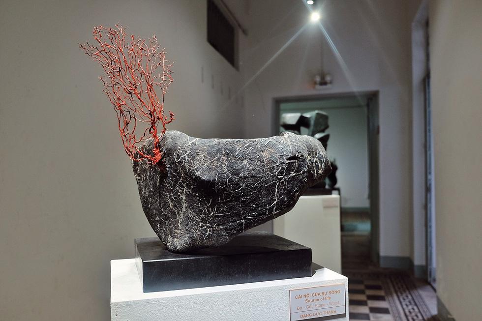 Triển lãm điêu khắc Sài Gòn - Hà Nội: Heo lên ngôi trong năm Kỷ Hợi - Ảnh 22.