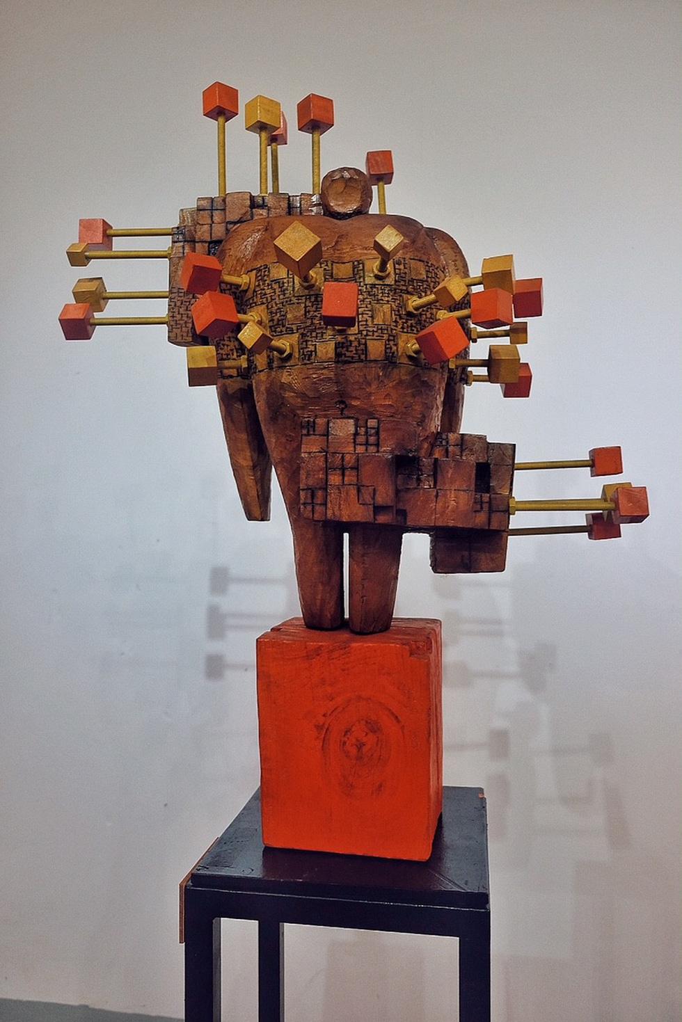Triển lãm điêu khắc Sài Gòn - Hà Nội: Heo lên ngôi trong năm Kỷ Hợi - Ảnh 19.