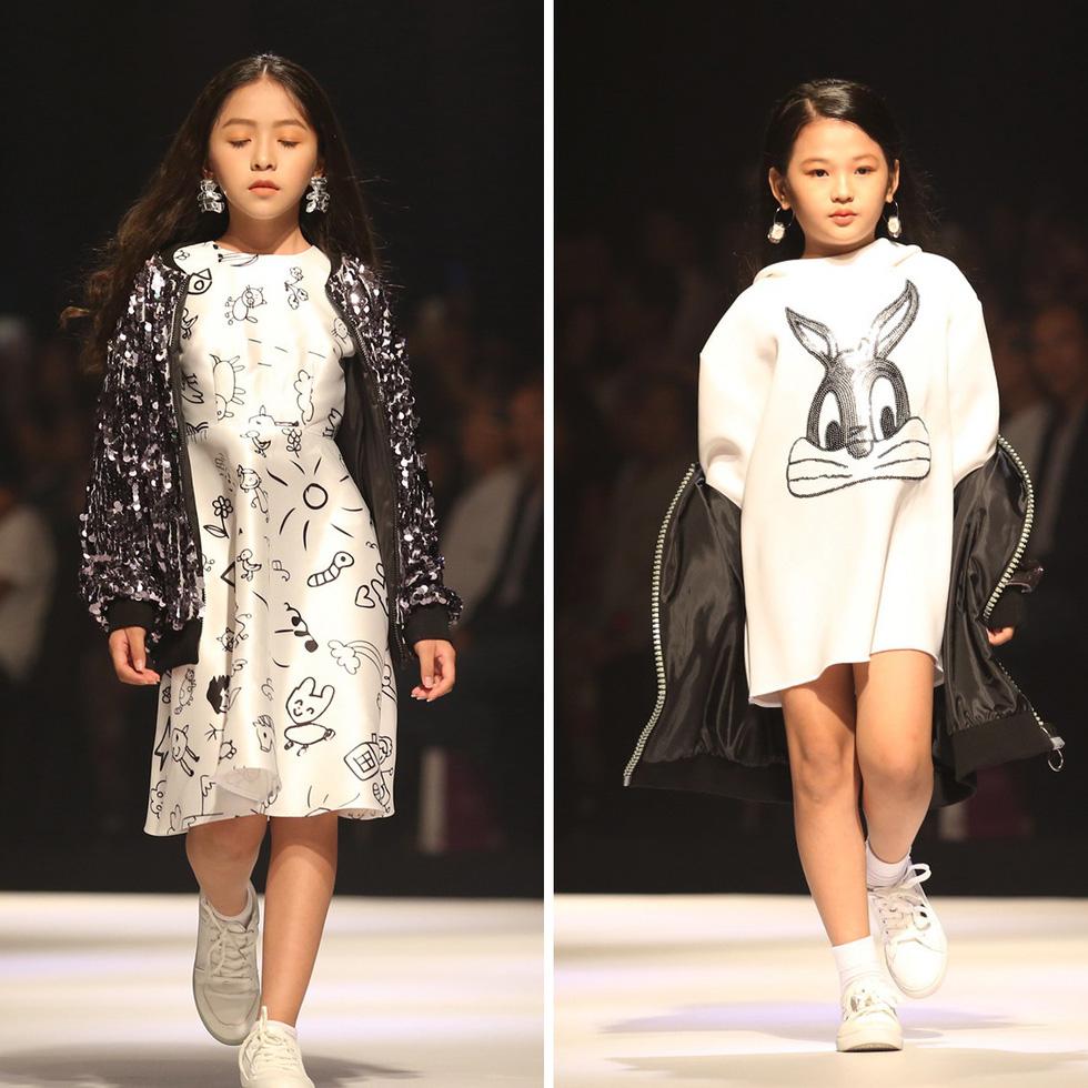 Chọn váy xinh diện Tết cho bé từ Tuần lễ thời trang trẻ em châu Á - Ảnh 5.