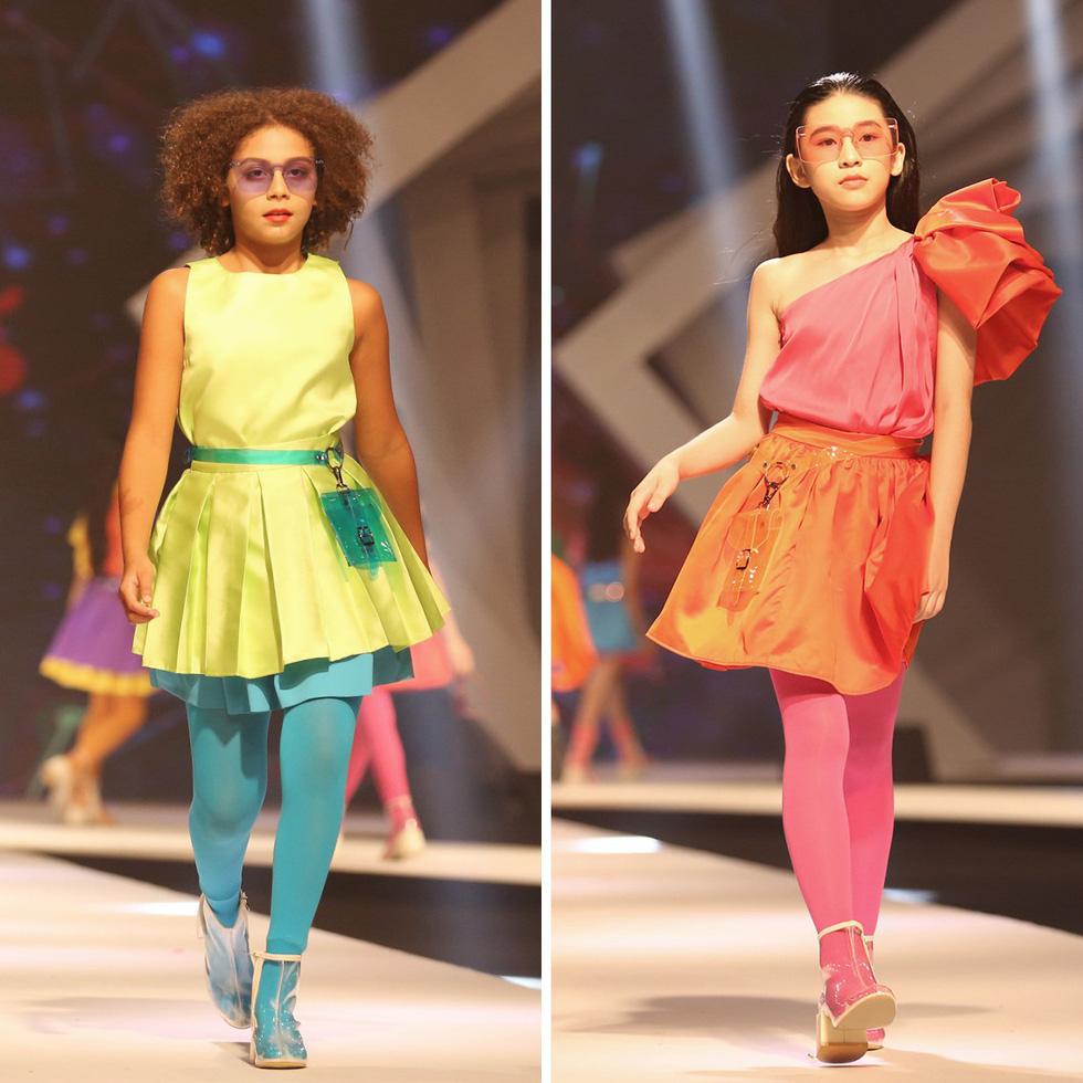 Chọn váy xinh diện Tết cho bé từ Tuần lễ thời trang trẻ em châu Á - Ảnh 12.