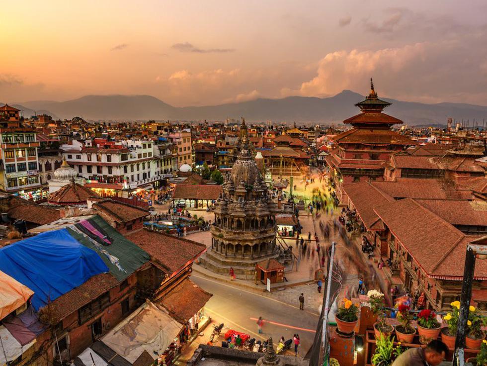Kathmandu nhìn từ trên cao - Ảnh: iStock