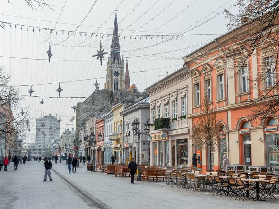Khung cảnh xinh đẹp ở Novi Sad - Ảnh: Pixabay