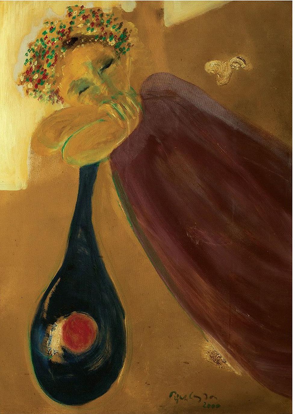 Lần đầu được ngắm cả bộ tranh của nhạc sĩ Trịnh Công Sơn - Ảnh 7.