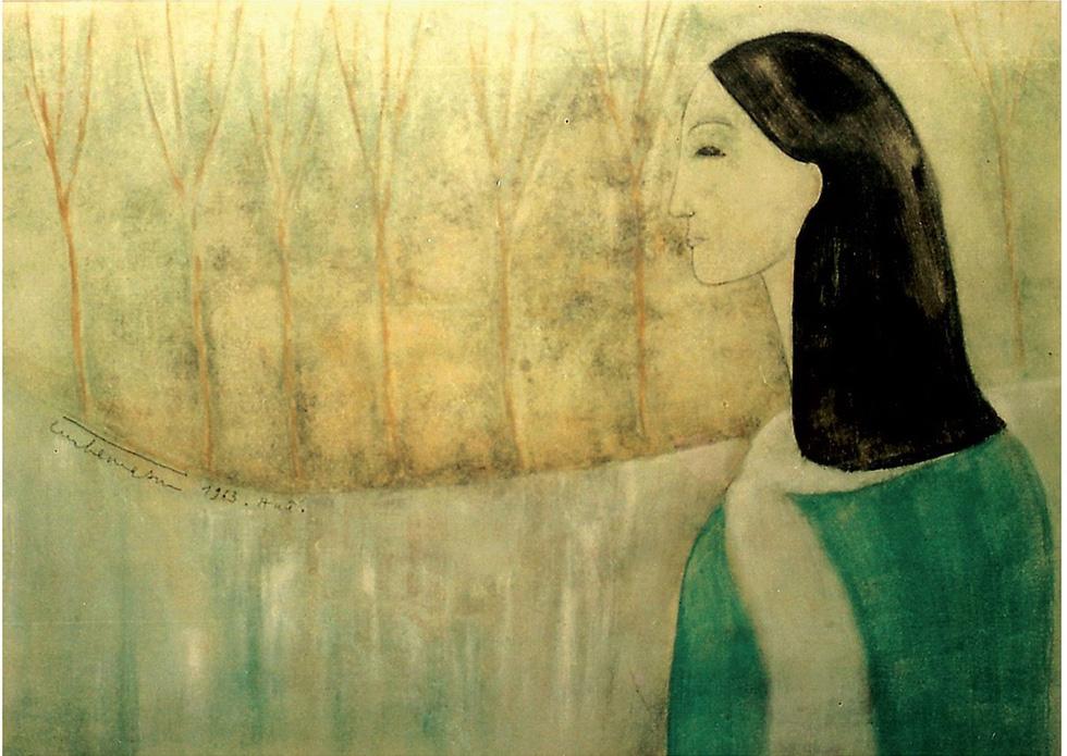 Lần đầu được ngắm cả bộ tranh của nhạc sĩ Trịnh Công Sơn - Ảnh 3.