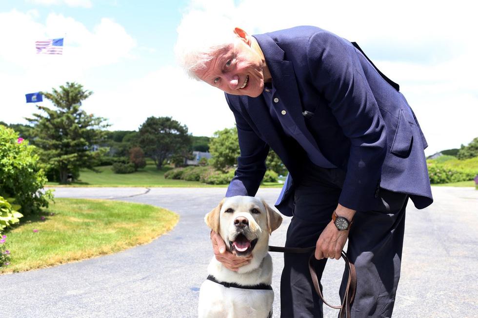 Xúc động hình ảnh chú chó Sully trung thành của ông Bush 'cha' - Ảnh 11.