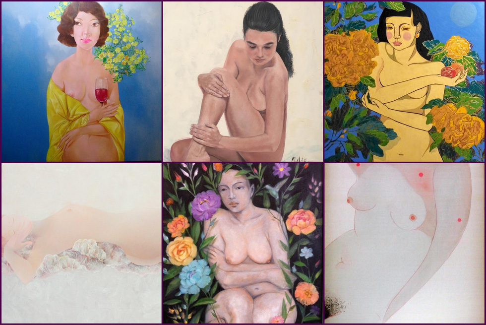 Đừng ngại ngùng thưởng thức tranh nude - Ảnh 2.