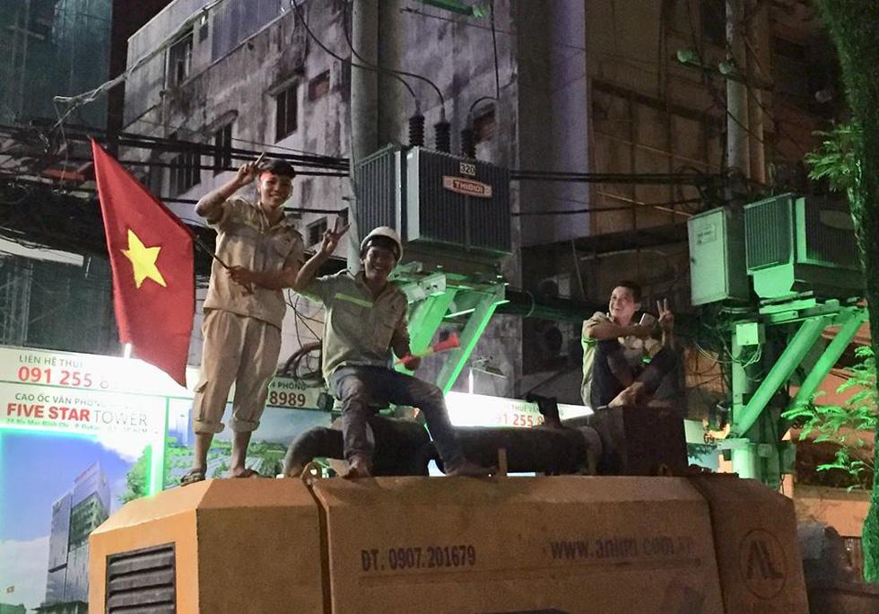Con thổi kèn ở Sài Gòn, mấy chú ở Mỹ Đình nghe được không? - Ảnh 21.