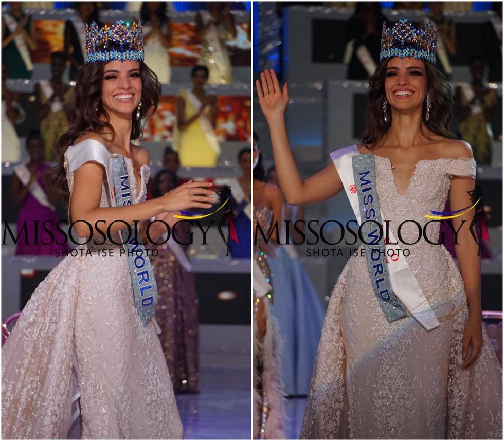 Nhan sắc người đẹp Mexico đăng quang Hoa hậu Thế giới 2018 - Ảnh 2.